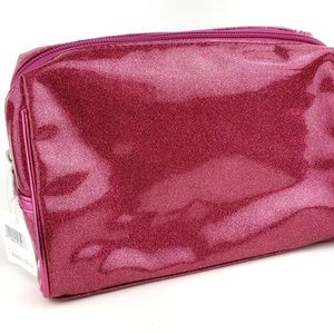 Ulta Beauty Pink Sparkle Glitter Makeup Bag